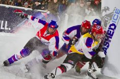 Топ-6 спортсменов Winningest от Red Bull: Crashed Ice