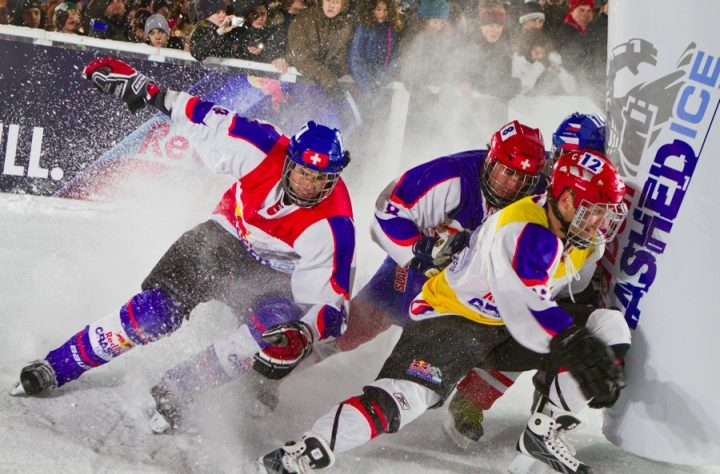 Топ-6 спортсменов Winningest от Red Bull: Crashed Ice