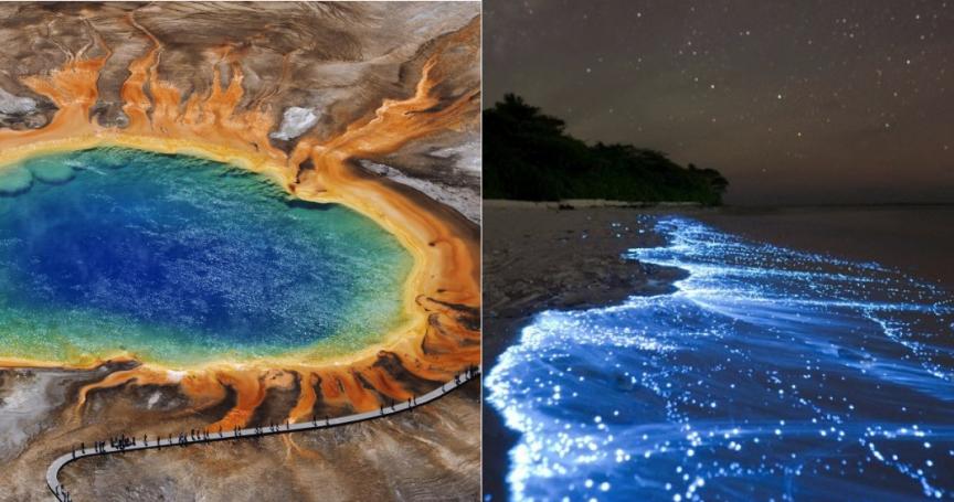 19 мест на земле, которые выглядят нереальными